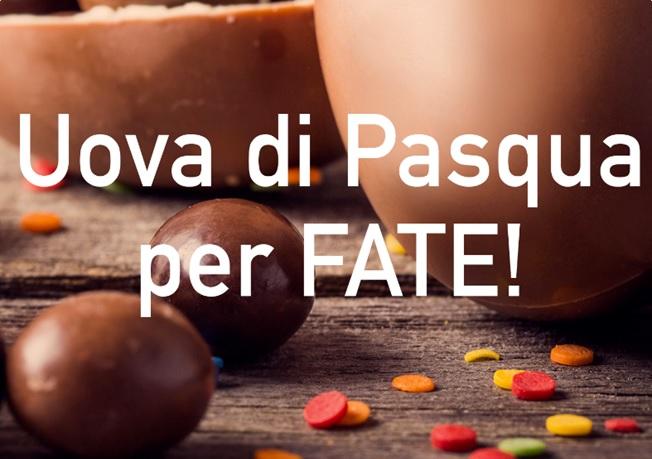 Prenotate Uova di Pasqua FATE!